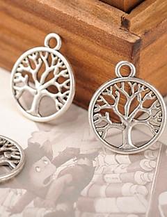 Eruner®38*16MM Alloy Life Tree Charms Pendants Jewelry DIY (10PCS)