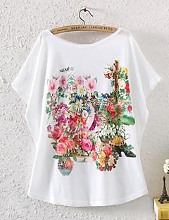 T-shirt (Polyester) - Med tryk - Kortærmet - Solid