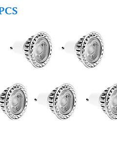 5 stuks GU10 10 W 1 COB 810 LM Koel wit Dimbaar Spotjes AC 220-240 V