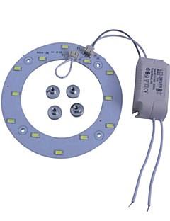 6W 6500K Blanc 5730 X 12 SMD LED panneaux de plafond de lumière avec Power