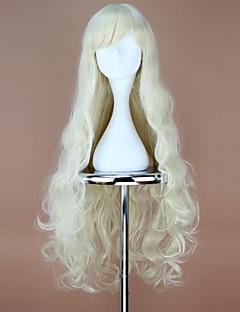 Kagerou Project Kozakura Marry Long Wavy Blonde Anime Cosplay Wig
