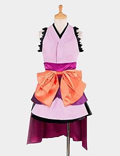 inspirerad av okrossbar maskin docka Komurasaki cosplay dräkter