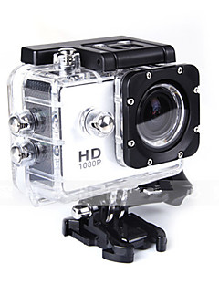 SJ4000 Action Kamera / Sportskamera 12MP 4000 x 3000 Vandtæt Alt i en Anti-Chock 1.5 CMOS 32 GB 30 MUniversel Dykning motocycle Surfing