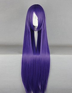 Cosplay Wigs Cosplay Cosplay Purple Long Anime Cosplay Wigs 100 CM Heat Resistant Fiber Female