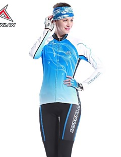 MYSENLAN® Cycling Jersey with Tights Women's Long Sleeve BikeThermal / Warm / Quick Dry / Ultraviolet Resistant / Moisture Permeability /