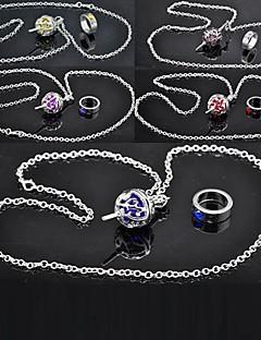 Šperky Inspirovaný Puella Magi Madoka Magica Cosplay Anime Cosplay Doplňky Náhrdelníky Czerwony / Żółty / Niebieski / Fialová / Růžová