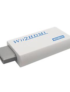 Convertisseur Wii - HDMI avec Câble Mâle - Mâle (Blanc)