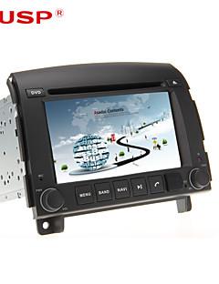kusp ® 6,2 tum 2DIN bil dvd-spelare för Hyundai Sonata nf yu xiang 2006-2013 support gps, bt, rds, lek, ipod