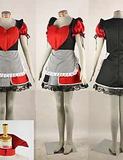 Cosplay Costumes / Party Costume Cosplay Festival/Holiday Halloween Costumes Red/Black Patchwork Dress Halloween Female / Male Polyester