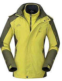 Outdoors Women's 3-In-1 Waterproof Camping Hiking Windstopper Trekking Windbreaker Ski-Suit Jacket
