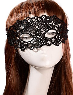 Vintage Flower Pattern Holiday Party Mask