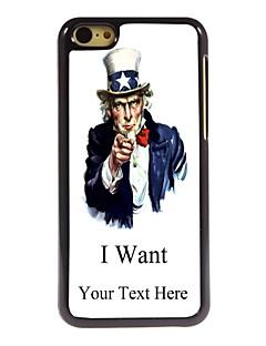 presente personalizado eu quero projetar caixa de metal para iphone 5c