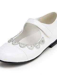 Per bambina Scarpe da sposa Comoda Ballerine Matrimonio Nero/Bianco