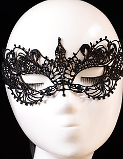 Fashion Bird Pattern Lace Party Mask Halloween Props Cosplay Accessories