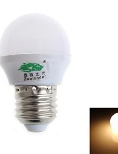 Zweihnde E26/E27 3 W 8 SMD 2835 280-300 LM Warm White G Decorative Globe Bulbs AC 100-240 V