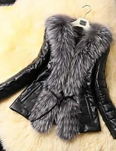 casacos de pele casaco de peles de moda casaco fino da pele das mulheres