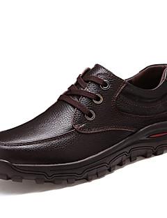 Oxfordky Černá / Hnědá Pánské boty Kůže Kancelář / Běžné