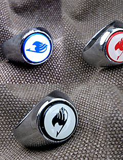 Holiday Jewelry Cosplay Festival/Holiday Halloween Costumes Red / Black / Blue Print Ring Halloween / Carnival / New Year Unisex Alloy