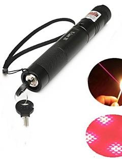 LT-303B Lockable Red Laser Pointer (5MW,650nm,1x18650,Black)