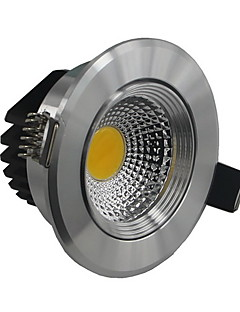 Luces de Techo 5 W 1 COB 500-550 LM 2800-3000/6000-6500 K Blanco Cálido/Blanco Fresco AC 85-265 V
