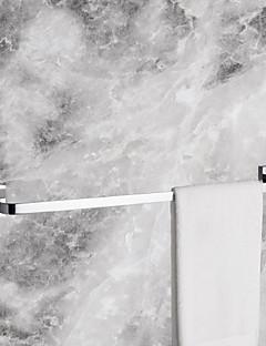 barre de serviette, finition chromée moderne laiton massif slat 24 pouces, accessoire de salle de bains