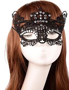 Maska cosplay Festival/Svátek Halloweenské kostýmy Černá Jednobarevné Maska Halloween Unisex