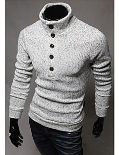 Stadt Männer Casual Grund arbeiten weiche Strickwaren Pullover