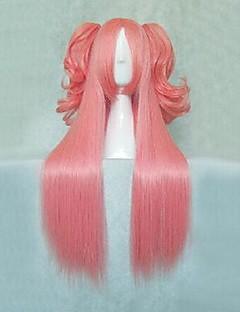 puella 동방의 마도카의 MAGICA 샬롯 아냐 분홍색 긴 VER. 코스프레 가발