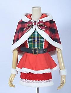 Love Live! cosplay costume de noël idole de l'école carte Festival sr maki
