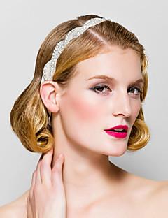 Dame Rhinestone Headpiece Bryllup/Spesiell Leilighet Pannebånd Bryllup/Spesiell Leilighet