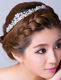 Women's Rhinestone Alloy Headpiece-Wedding Special Occasion Headbands