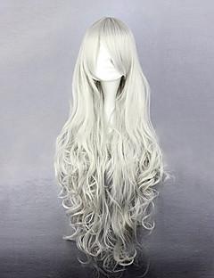 Black Butler reine Victoria cosplay perruque blanche