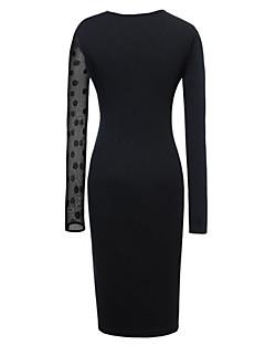 сексуальный тонкий платье пункт женщин