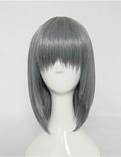 하라주쿠 스타일의 혼합 회색 짧은 로리타 가발