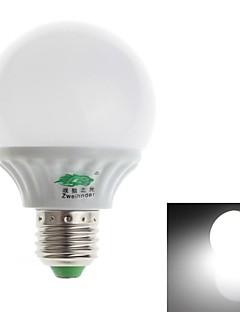 Zweihnde E26/E27 9 W 45 SMD 2835 850-900 LM Natural White G Decorative Globe Bulbs AC 100-240 V