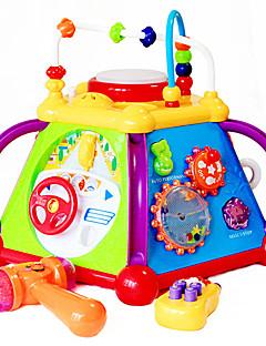 multifonctionnel six côtés boîte bébé jouets éducatifs musicaux