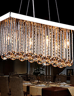 European Simple Fashion K9 Crystal Chandeliers AC220V