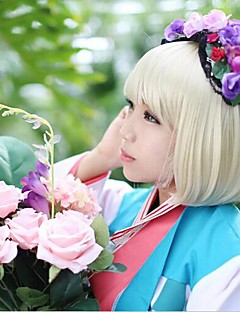 Cosplay Wigs Blue Exorcist Shiemi Moriyama Golden Short Anime Cosplay Wigs 35 CM Heat Resistant Fiber Male