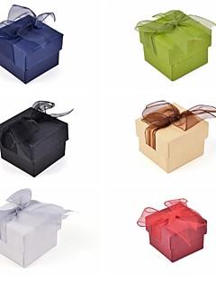 레이스 나비 종이 반지 상자