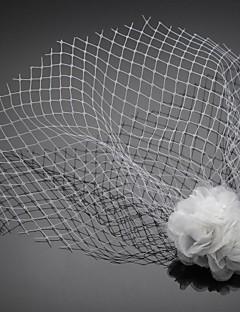 uma camada de casamento / ocasião especial blush véu