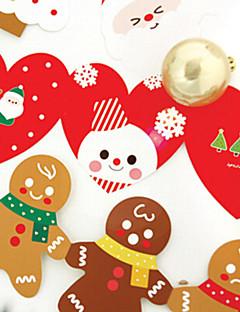 szép mappát karácsonyi kártyák (5 kártya + 5 borítékban)
