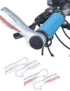 taok alumiiniseos valkoinen taitto polkupyörä maastopyörä ohjaustankoon loppua