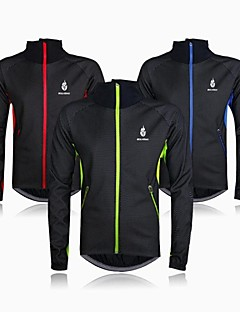 WOLFBIKE® Cycling Jacket Men's Long Sleeve Bike Thermal / Warm / Windproof / Fleece Lining / Rain-Proof Fleece Jackets / Jersey / Tops