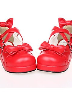 PU Leather 3CM Platform Sweet Lolita Shoes