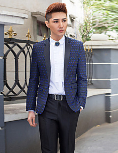 Polyester Slim Fit Two-Piece Tuxedo