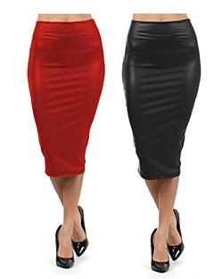baotu®high-end saias bolsa de couro de quadril de cultivar a saia lápis de cintura alta moralidade
