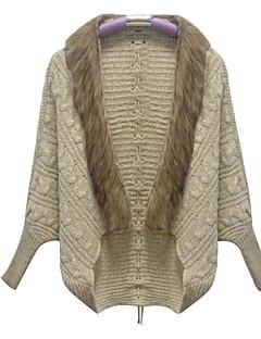 falari 여성의 새로운 한국어 느슨한 큰 야드 박쥐 소매 스웨터 카디건 코트