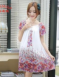 Summer Chiffon Korean fashion new loose Chiffon Dress Dress pregnant women dress big code pregnant women dress