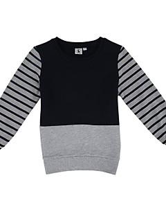 Αγόρια Μπλούζα με Κουκούλα & Φούτερ Ριγέ Χειμώνας / Άνοιξη / Φθινόπωρο Βαμβάκι / Πολυεστέρας
