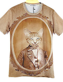 Mclean Men'S Fashion 3D Prints Short Sleeve T Shirt